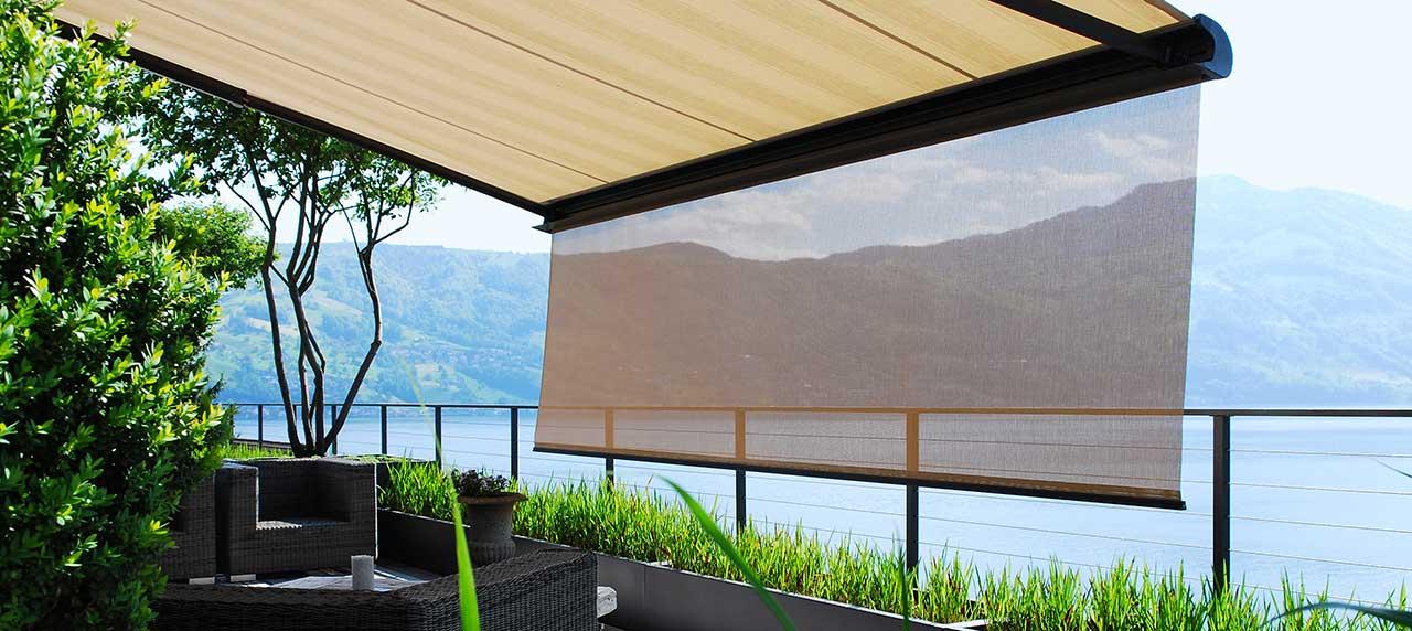 Store toile pour balcon et terrasse